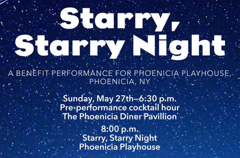 Artwork for Starry, Starry Night at Phoenicia Playhouse
