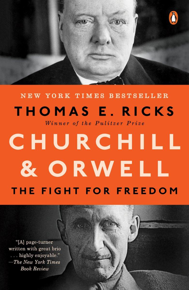 Book Cover - Churchill & Orwell