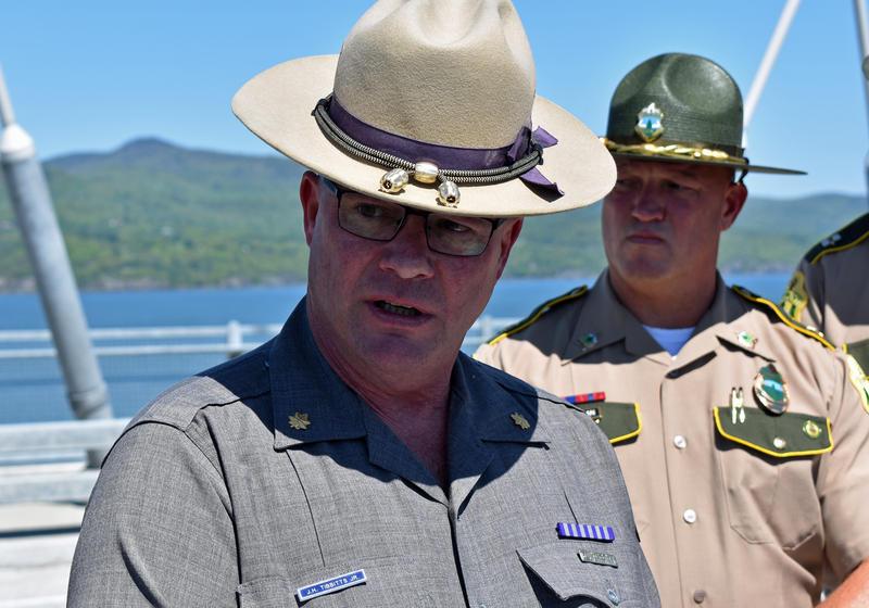 NYS Police Troop B Commander Major John Tibbitts discusses Click It or Ticket