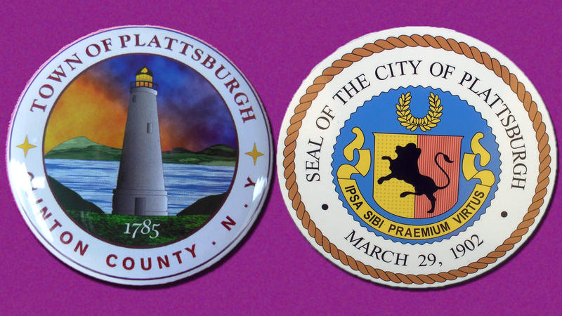Plattsburgh town-city logos/seals