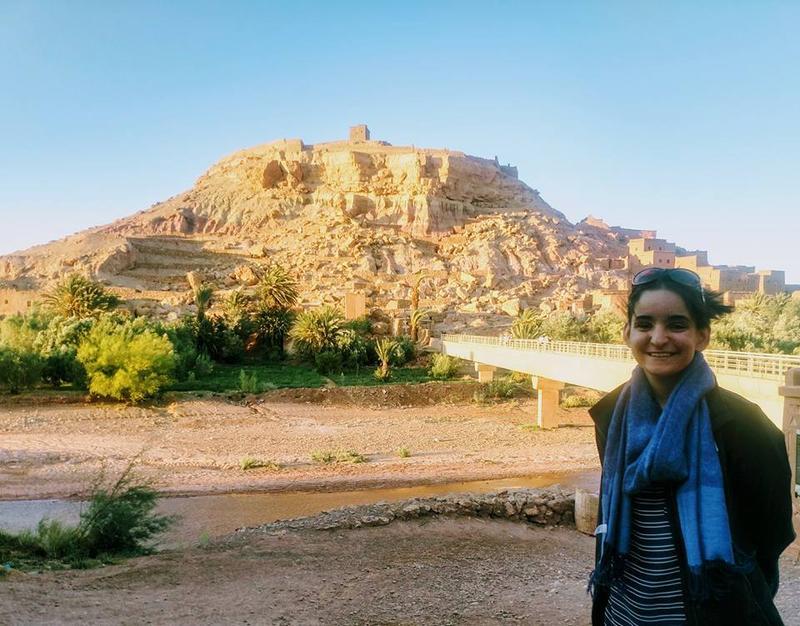 Elizabeth Hill, Morocco 2018