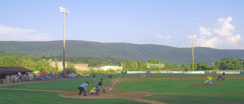 Joe Wolfe Field at North Adams, Massachusetts' Noel Field Athleticc Complex.