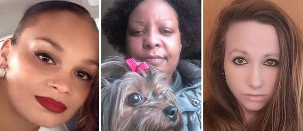 Facebook photos of America Lyden, Ernestine Ryans, and Kayla Escalante, who have been identified as the three people whose dead bodies were found in or around a house on Page Blvd in east Springfield
