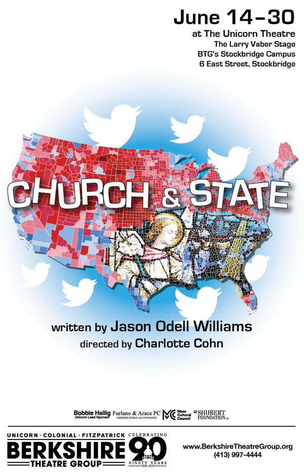 "Poster for BTG's ""Church and State"""