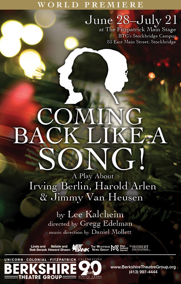 "Poster for BTG's ""Coming Back Like a Song!"""