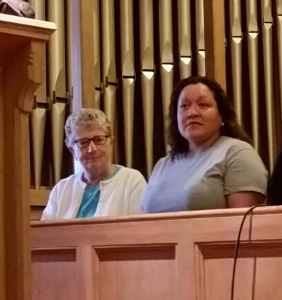 Collazo and Sr. Denise Granger of the Sisters of St. Joseph and a member of the Springfield Interfaith Sanctuary Coalition, a program of the Pioneer Valley Project