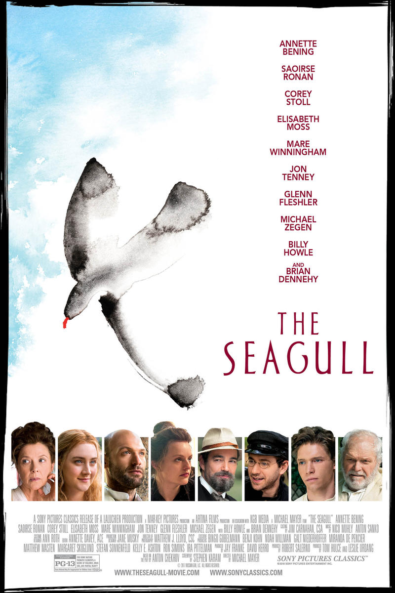 Movie poster for The Seagull