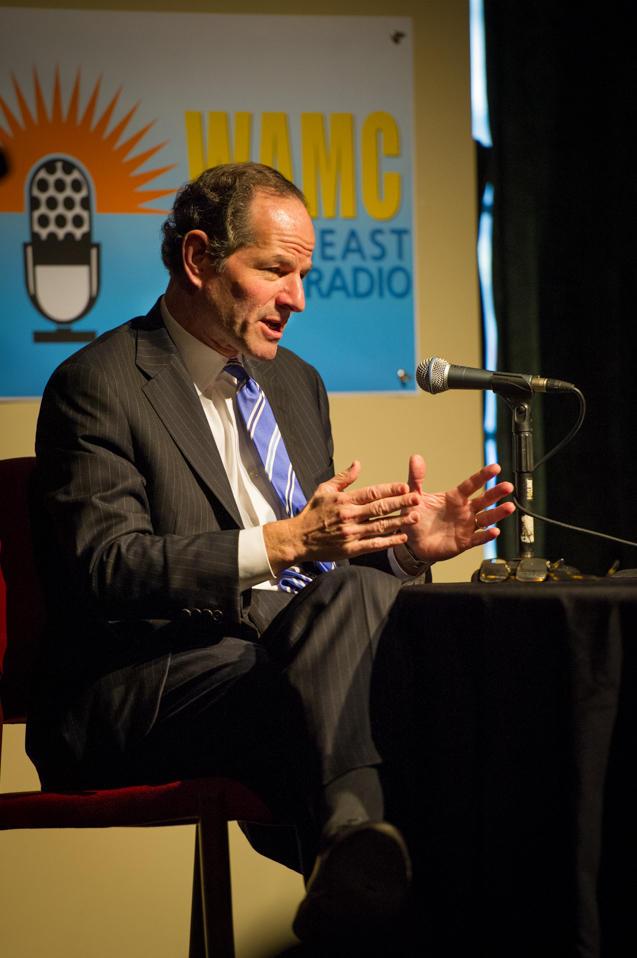 Former Gov. Eliot Spitzer