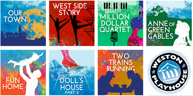 Weston Playhouse artwork for 2018