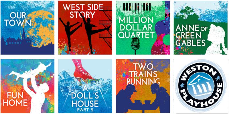 Weston Playhouse artwork for 2018