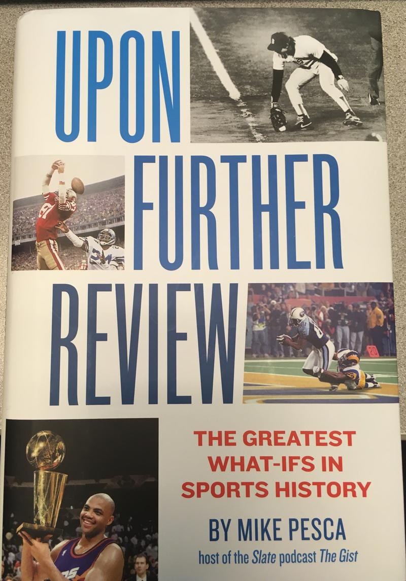 The cover of Mike Pesca's book Upon Further Review