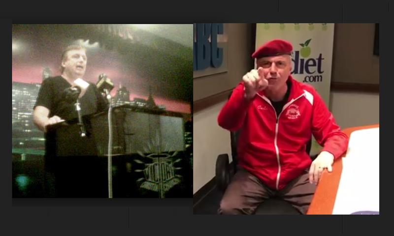 Pastor Charlie Muller and Guardian Angels Leader Curtis Sliwa