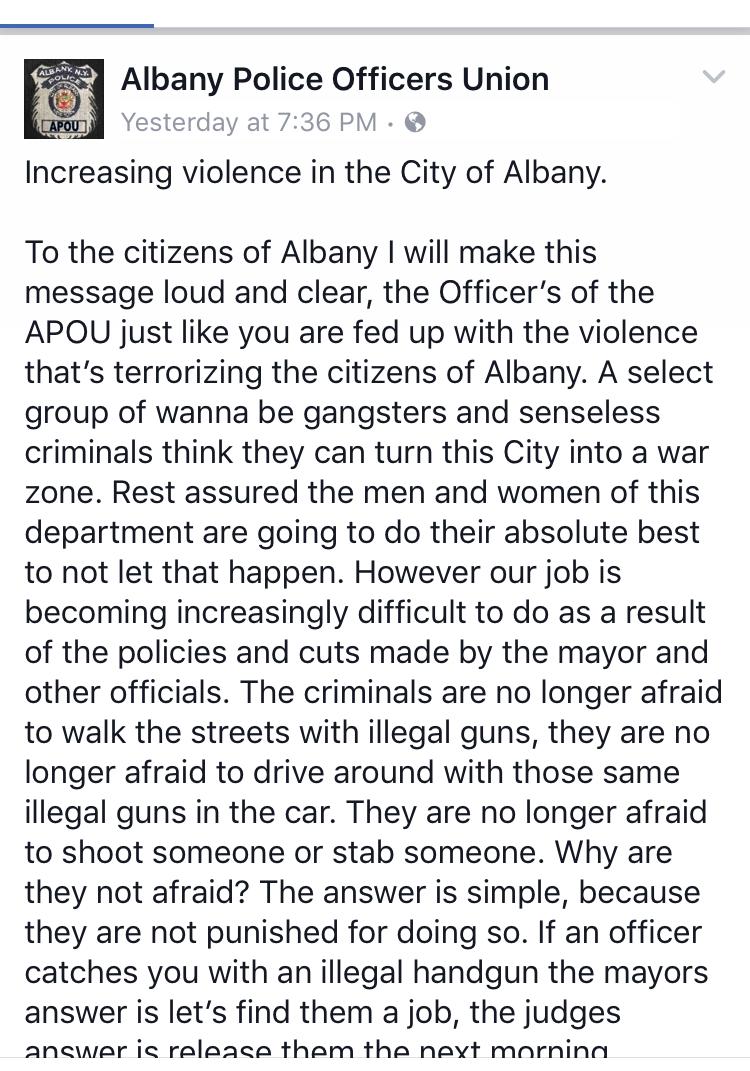 Screenshot via Facebook (1 of 2)