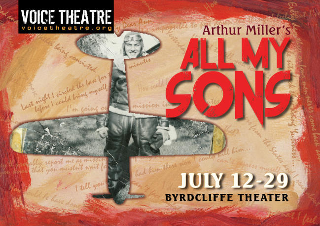 "Voice Theatre's ""All My Sons"" artwork"