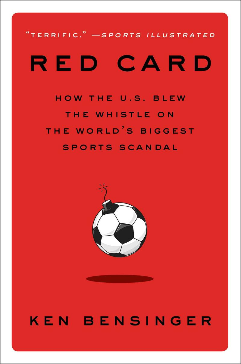 Book Cover - Red Card