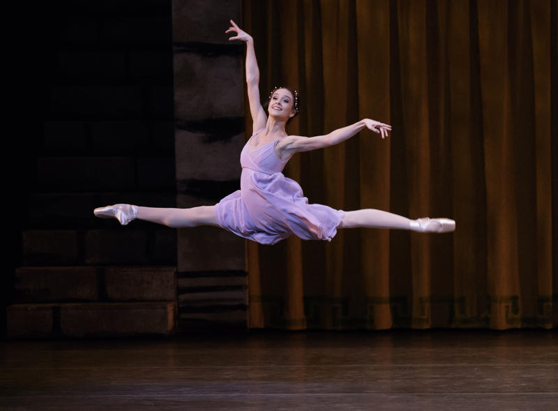 "Lauren Lovette in ""Romeo + Juliet"""
