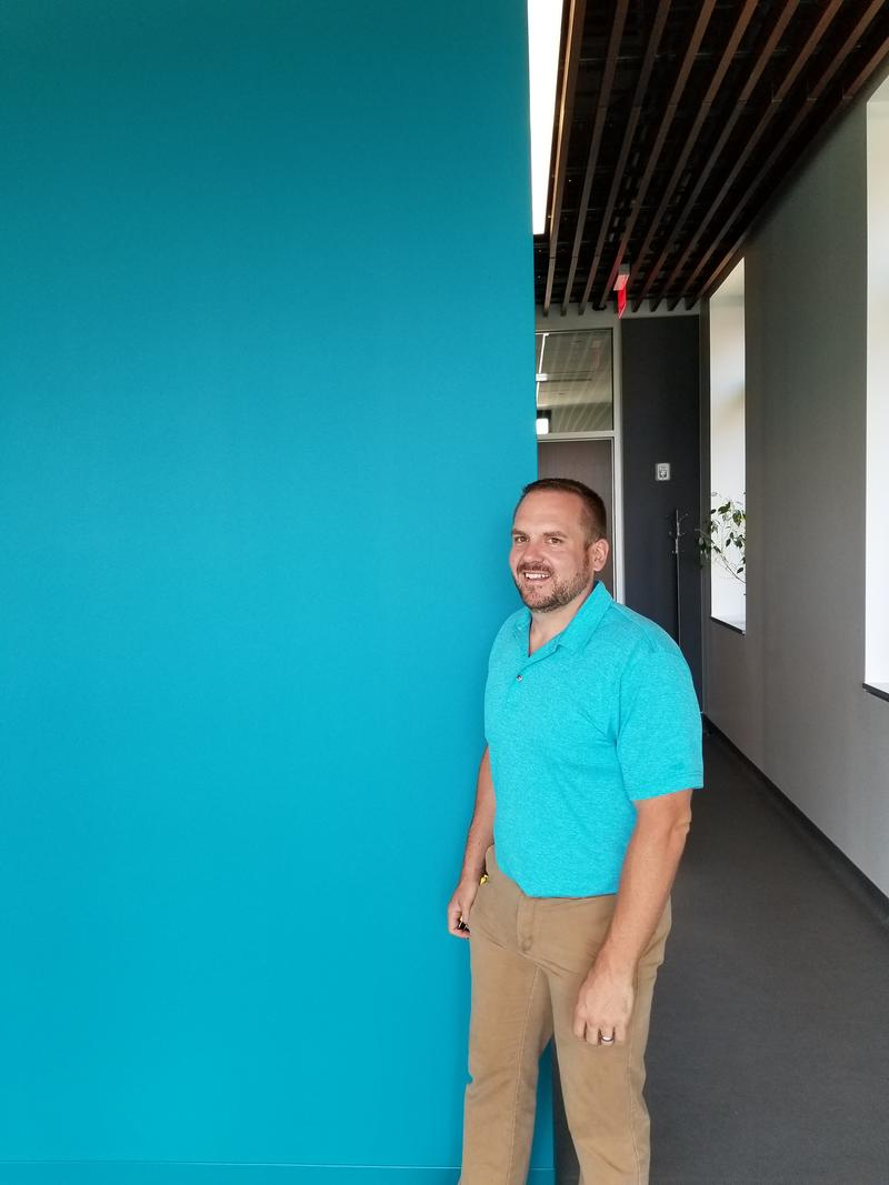 Senior Project Manager Mike Wood.