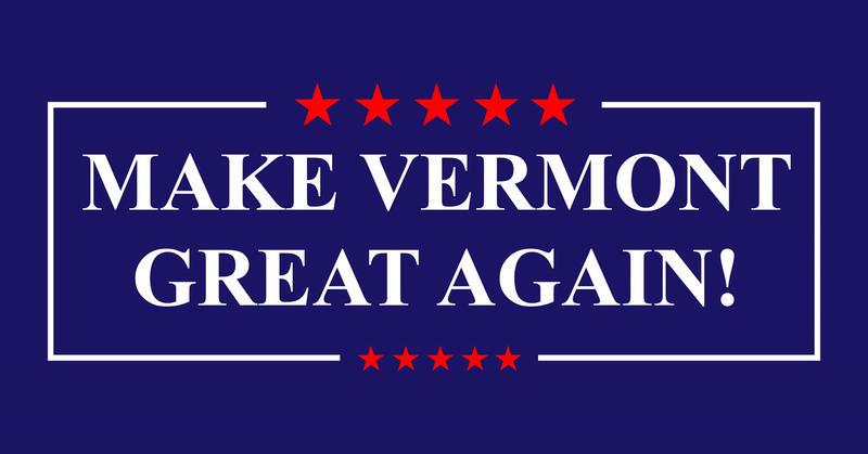 Make Vermont Great Again logo