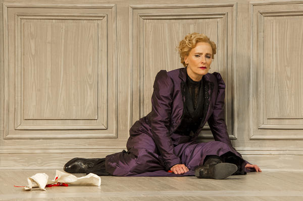 "Laila Robins in ""A Doll's House, Part 2"" at Barrington Stage"