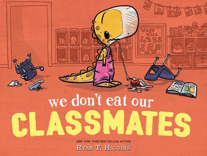 Book cover - We Don't Eat Our Classmates