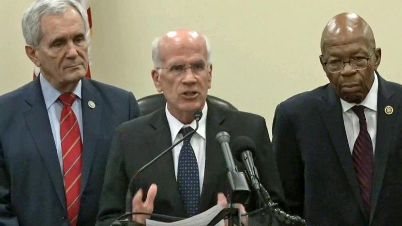 From left: Representatives Lloyd Doggett, Peter Welch and Elijah Cummings