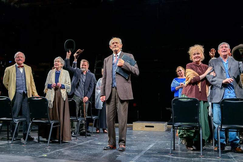 "Christopher Lloyd in ""Our Town"" at Weston Playhouse"