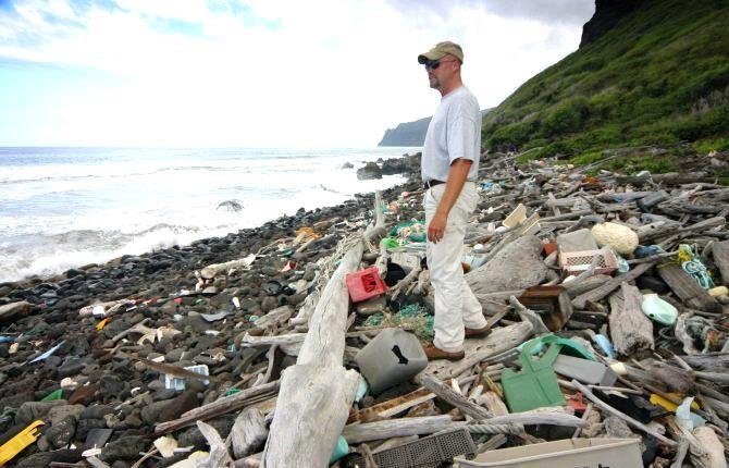 Many countries, including the U.S., contribute plastic pollution, and it all adds up. For example, in 2010 alone 8 million metric tons of plastic entered the world's oceans.
