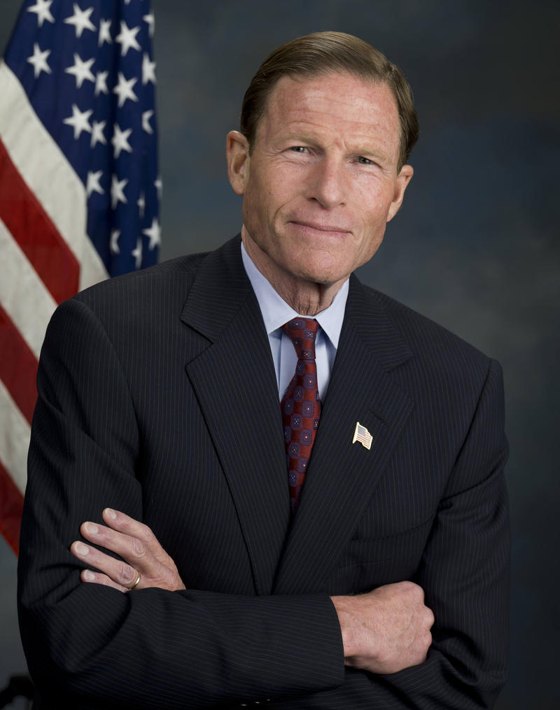 U.S. Senator Richard Blumenthal, a Connecticut Democrat