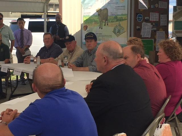 Dairy roundtable at Dutch Hollow Farm