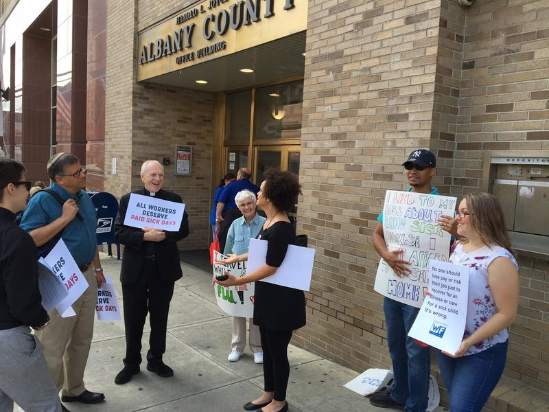 """We join the growing number of Albany County faith leaders in the calling for the passage of Local Law C,"" said Ivette Alfonso, President of Citizen Action of New York"
