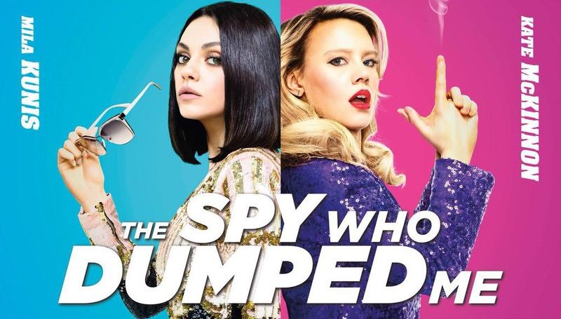 "Movie artwork for ""The Spy Who Dumped Me"""