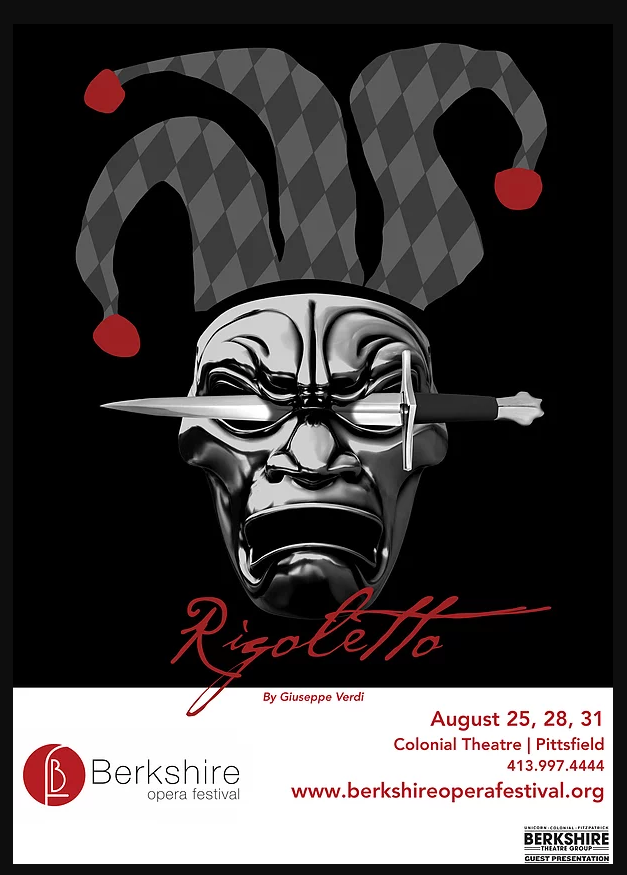 Artwork for Rigoletto at Berkshire Opera Festival