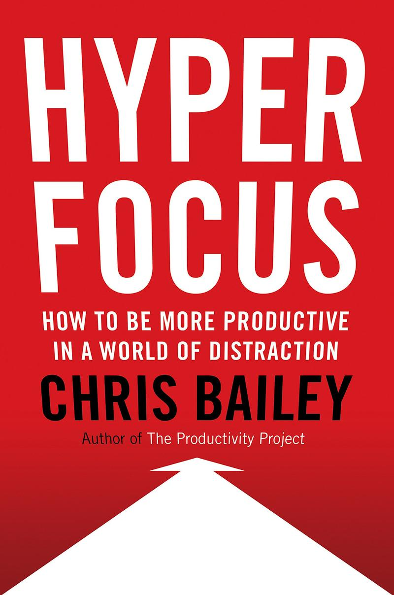Book Cover - Hyper Focus