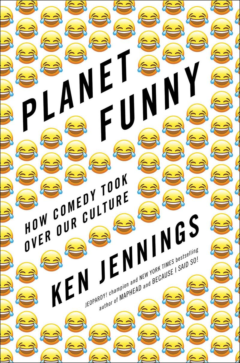 Book Cover - Planet Funny