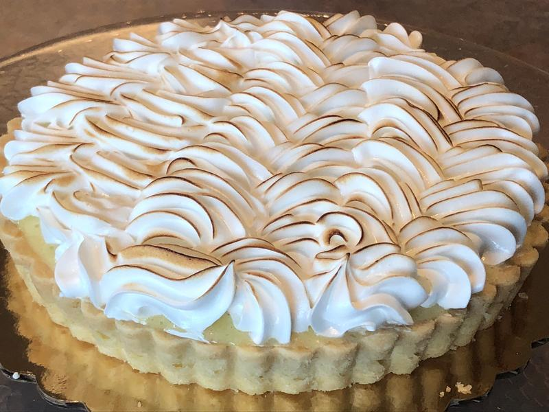 Mother Myrick's Lemon Meringue Tart