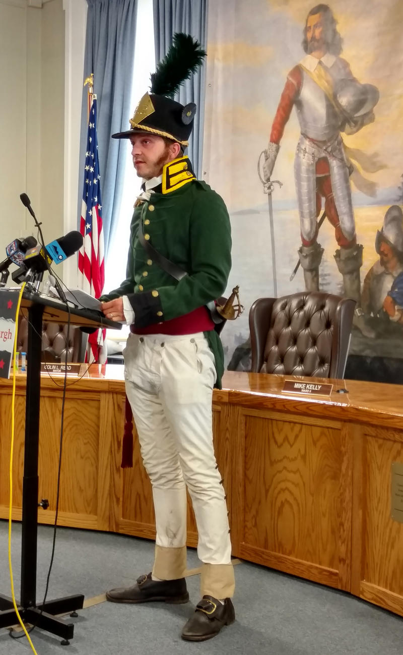 P.J. Miller discusses Battle of Plattsburgh reenactments