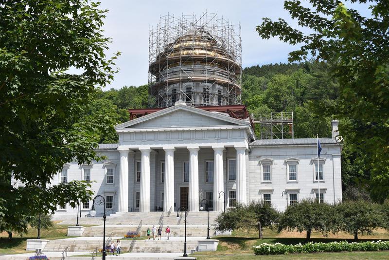 Vermont Statehouse summer 2018