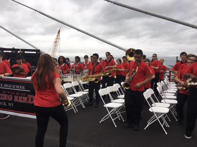 Nyack High School Red Storm Marching Band