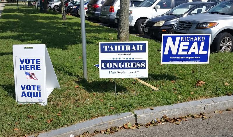 Massachusetts voters Tuesday decide a  Democatic primary for the First District U.S. House seat