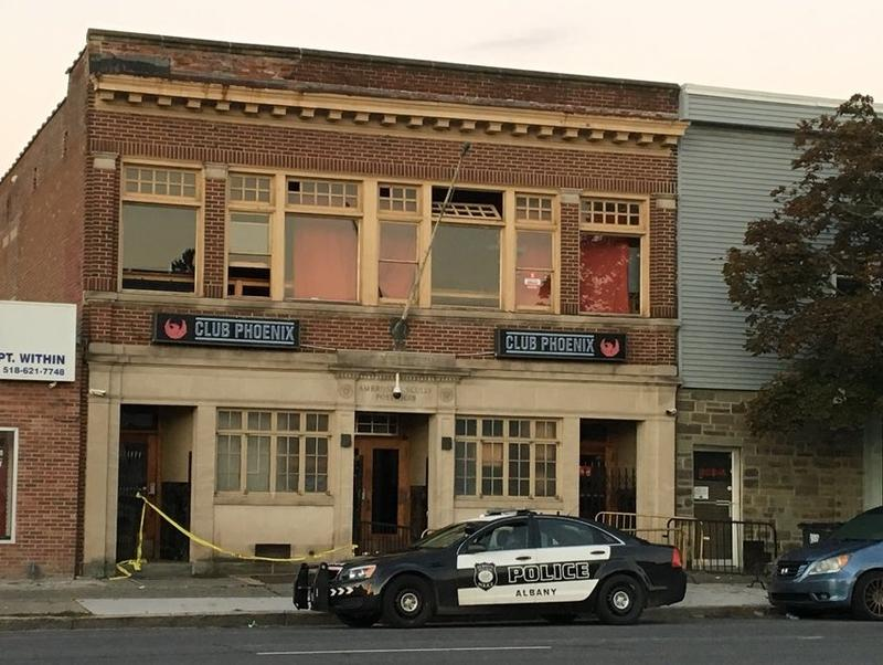 Albany police are investigating after a shooting at Club Pheonix on Central Avenue