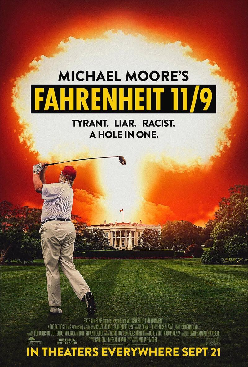 Movie Poster Fahrenheit 11/9