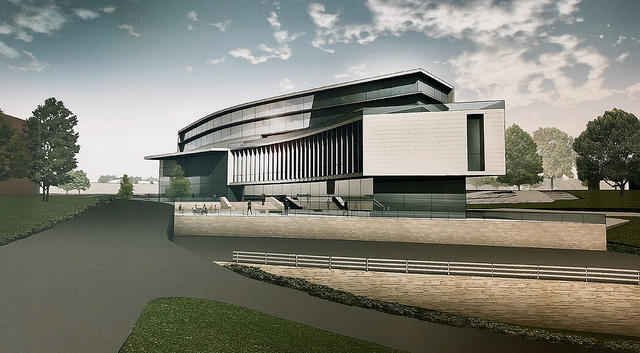 Rendering of Marist Health Quest School of Medicine, Poughkeepsie, NY