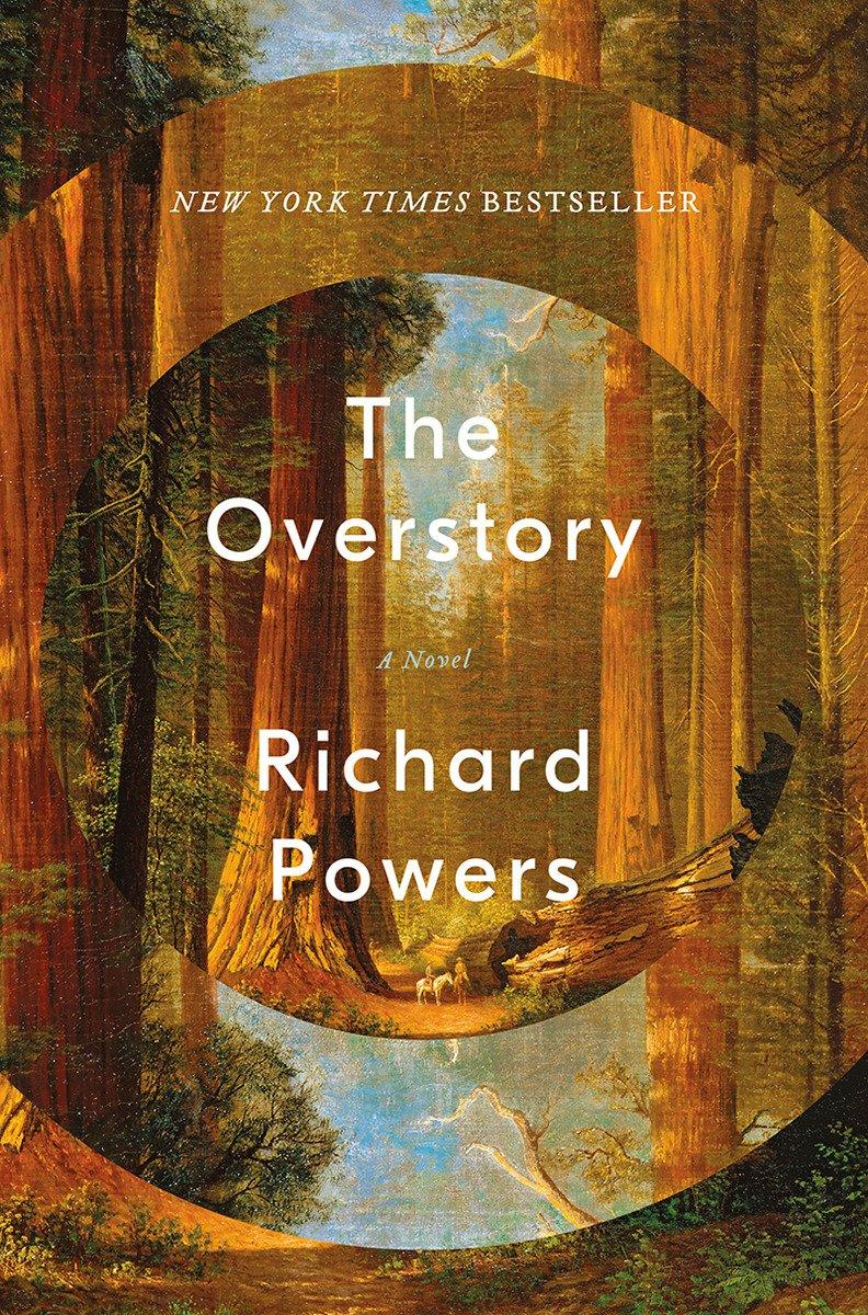 Book Cover The Overstory by Richard Powers