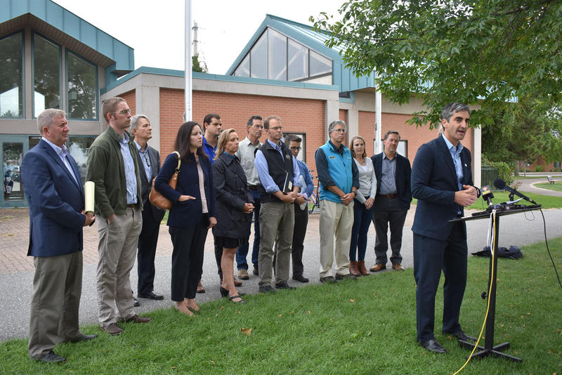 Burlington Mayor Miro Weinberger announces proposed Clean Water Resiliency plan