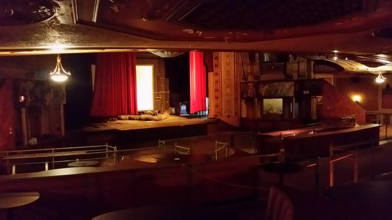 interior of the Paramount Theater