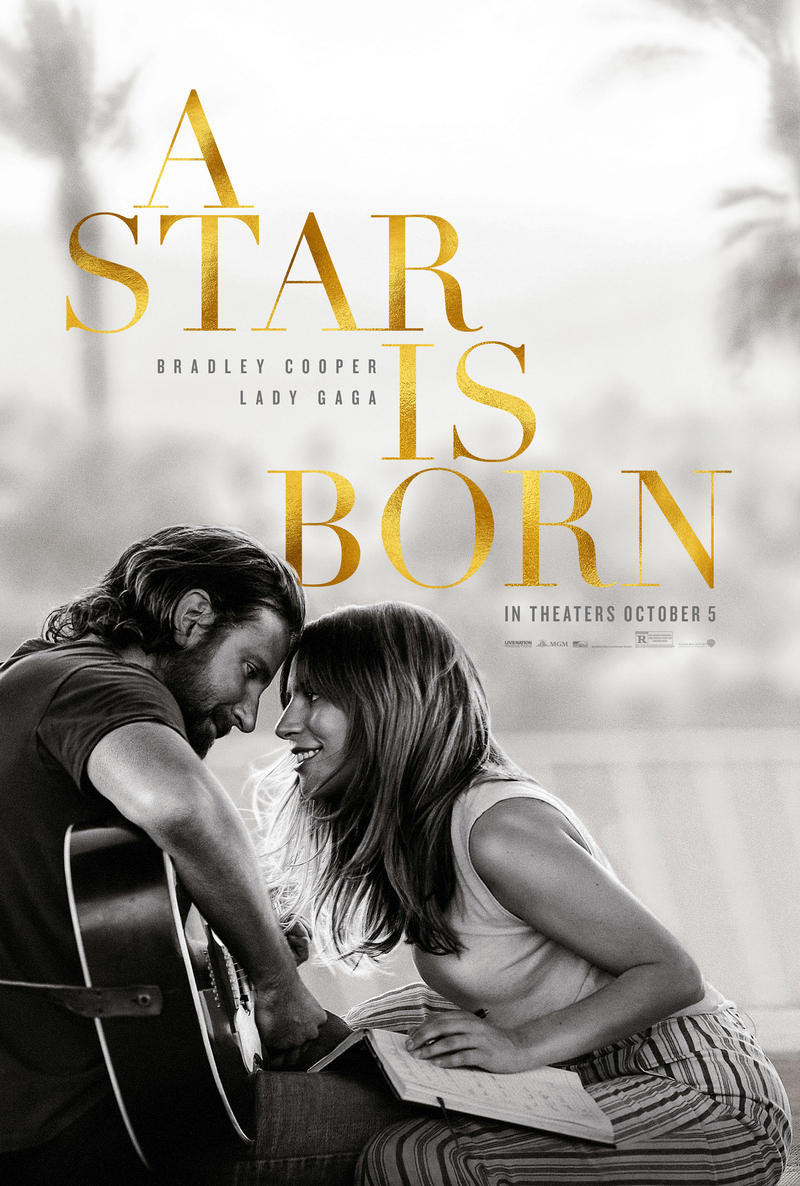 Movie Poster: a star is born