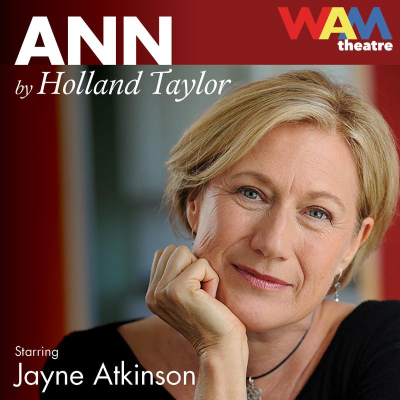"WAM Theatre playbill ""ANN"""