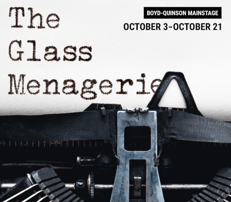 Poster: The Glass Menagerie