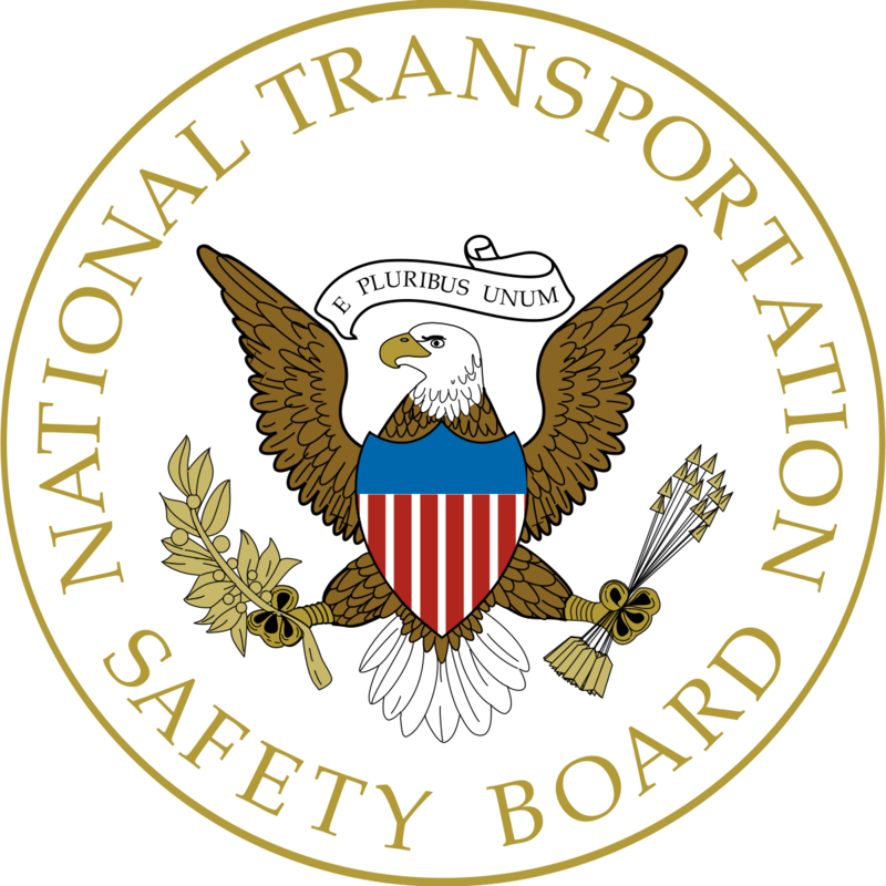The official seal of the National Transportation Safety Board