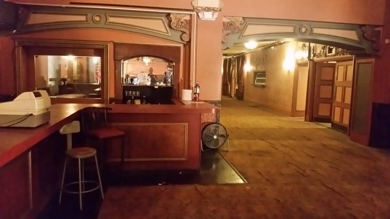 The lobby of the Paramount Theater in 2018